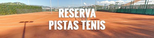 Reserva Pistas Tenis