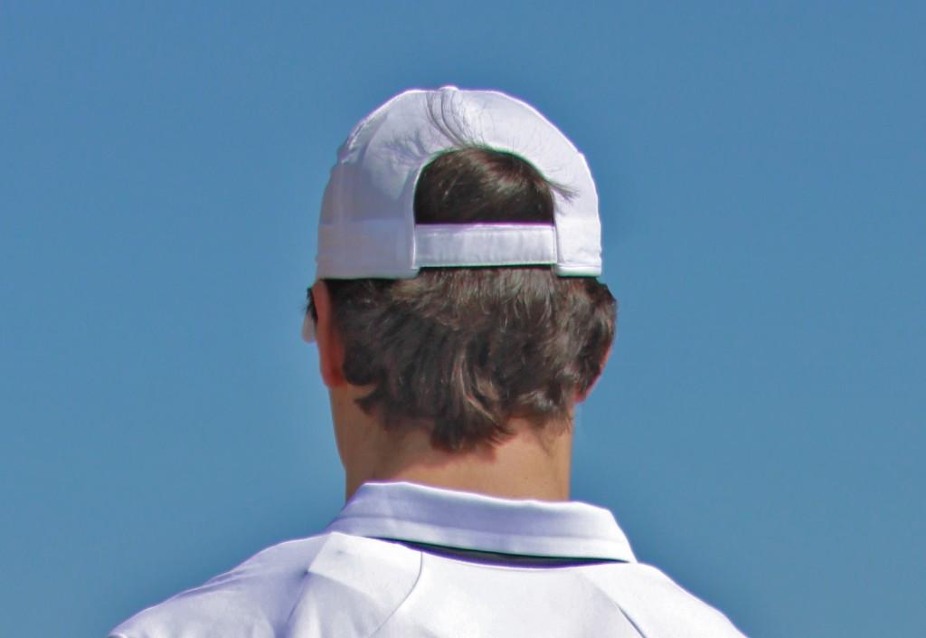 Gorra marca Head blanca