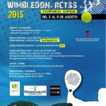 Cuadro martes 4 – Wimbledon / RCTSS