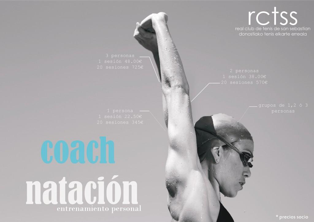 coach natación donostia