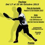 Campeonato  Cadete  de  Tenis  RCTSS  2015