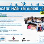 XII LIGA DE PADEL FER HIGINE-RCTSS 2.015/16