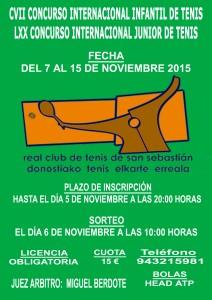 Cartel Internacional Infantil y Junior 2015 copia