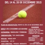 Campeonato  de  Navidad  de  Tenis  2015