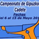 Campeonato  de  Guipúzcoa  Cadete    de  Tenis  2016