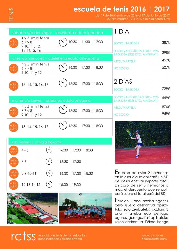 FOLLETO ESCUELA 16-17
