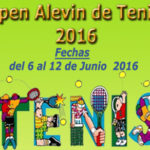 Open Alevín de Tenis 2016