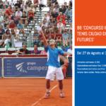 ITF FUTURES RCTSS Horarios y cuadros del 27 de Agosto del 2016