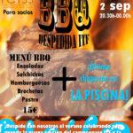 Fiesta BBQ – Despedida ITF