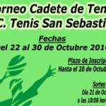 Campeonato Cadete de Tenis RCTSS