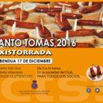 Fiesta de Santo tomás 2016 – TXISTORRADA!