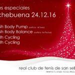 Cartel actividades Nochebuena