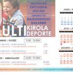 Inscripción exclusiva MULTIDEPORTE para socios del RCTSS