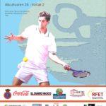 Cartel oficial del 89 Concurso Internacional de Tenis Ciudad de San Sebastián