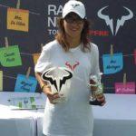 Anne Mintegi se hace con el Master Rafa Nadal Tour