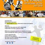 Abierta la inscripción para el campeonato de pádel Ferhigiene