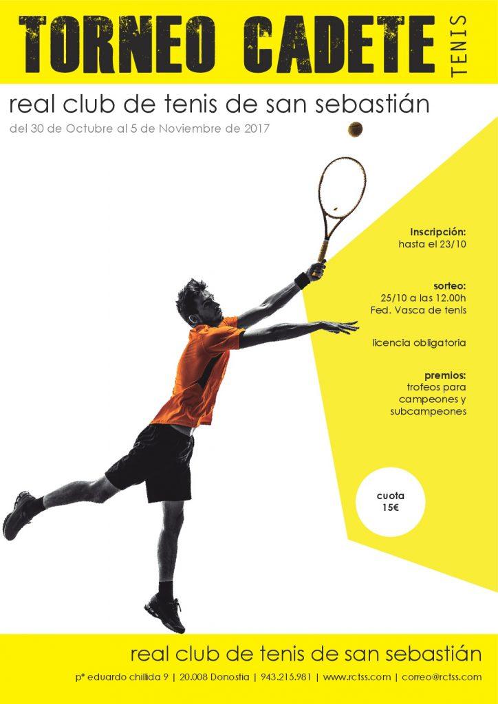 Torneo Cadete de Tenis RCTSS