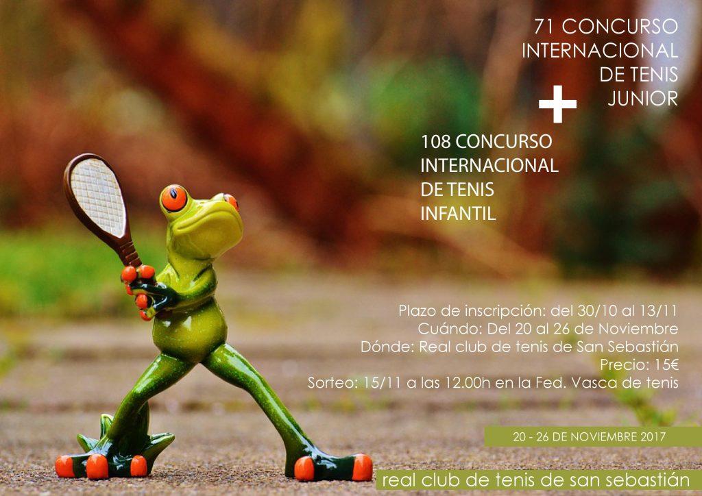 108 Concurso Internacional de Tenis infantil + 78 Concurso Internacional de tenis Junior