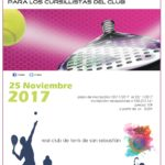 Torneo cursillistas de pádel 25 de Noviembre