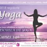 Este 2018 regálate +YOGA