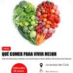 Charla de nutrición con la dietista Eli Gallego