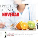Nuevo horario servicio de dietista