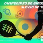 Campeonato Alevín de Gipuzkoa de Tenis 2018