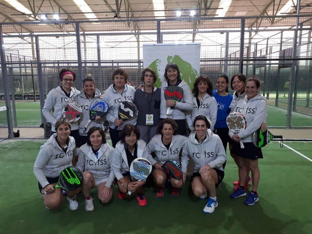 Éxito de las veteranas en el Campeonato de Euskadi
