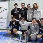 El RCTSS de pádel masculino campeón de Gipuzkoa por equipos