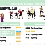 Presentación Les Mills: actividades del 24 y 25 de Marzo