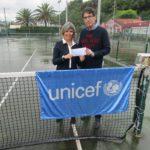 Récord de recaudación torneo Unicef  familias de tenis y pádel