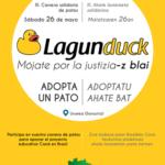 LAGUNDUCK:  adopta  un  pato
