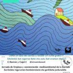 Jornada  de  sensibilización  y  limpieza  de  la  playa  de  la  Zurriola