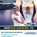 EXHIBICIÓN  DE  TENIS  con  Conchita  Martinez  y  Lara  Arruabarrena