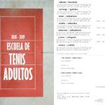 Cursillos TENIS ADULTOS 2018 – 2019