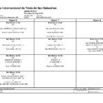 CUADRO  Y  ORDEN  DE  JUEGO  30/08  ITF  DONOSTIA