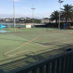 Atención obras: pistas duras de tenis