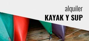 Alquiler Kayak y SUP