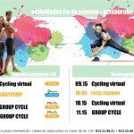 Actividades dirigidas del fin de semana del 1 y 2 de junio