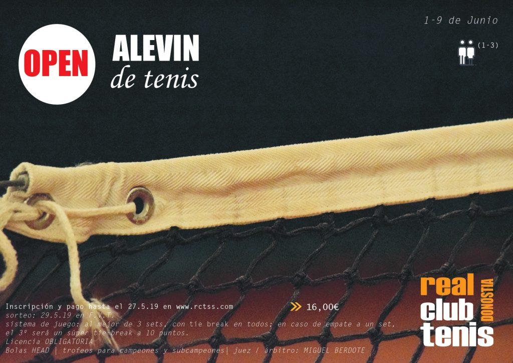 OPEN ALEVIN DE TENIS – RCTSS