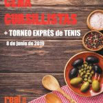 TENIS: CENA CURSILLISTAS + TORNEO EXPRÉS