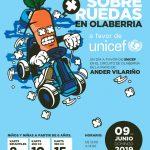 Pon tu gota y rueda con Ander Vilariño en el Circuito de Olaberria a favor de UNICEF