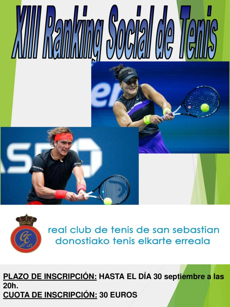 RANKING  SOCIAL  DE  TENIS