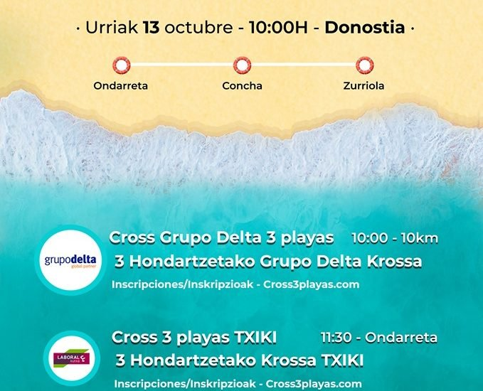XXX  edición  del  Cross  3  playas  Grupo  Delta