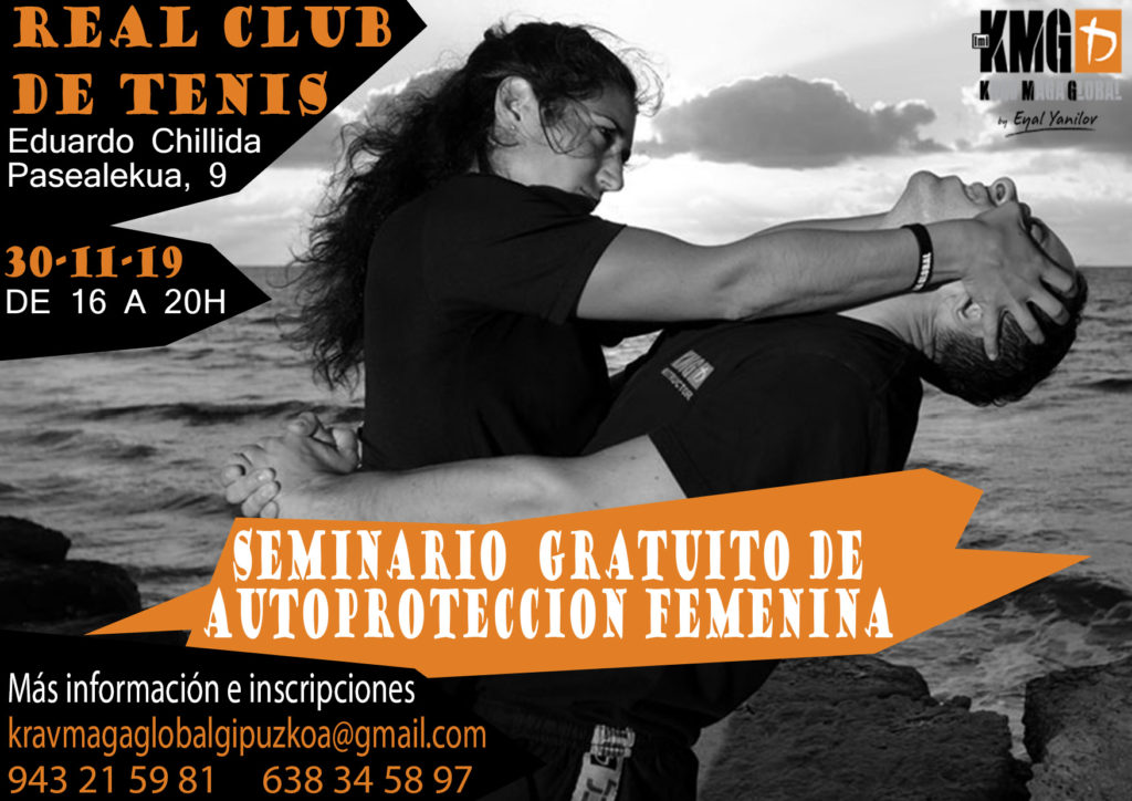 SEMINARIO DEFENSA PERSONAL FEMENINO