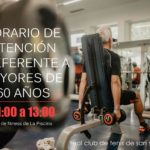 HORARIO DE ATENCIÓN PREFERENTE A MAYORES DE 60