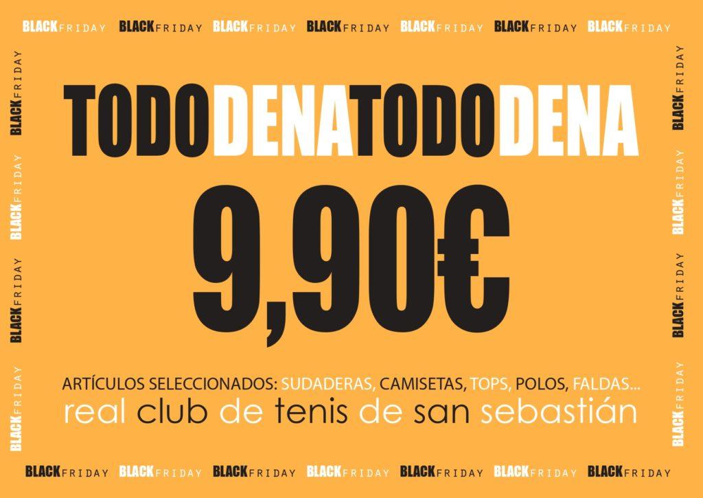 BLACK FRIDAY EN EL REAL CLUB DE TENIS DE SAN SEBASTIÁN