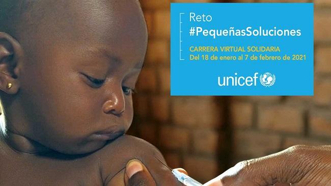 UNICEF Comité español organiza una carrera virtual solidaria a favor de la vacunación infantil