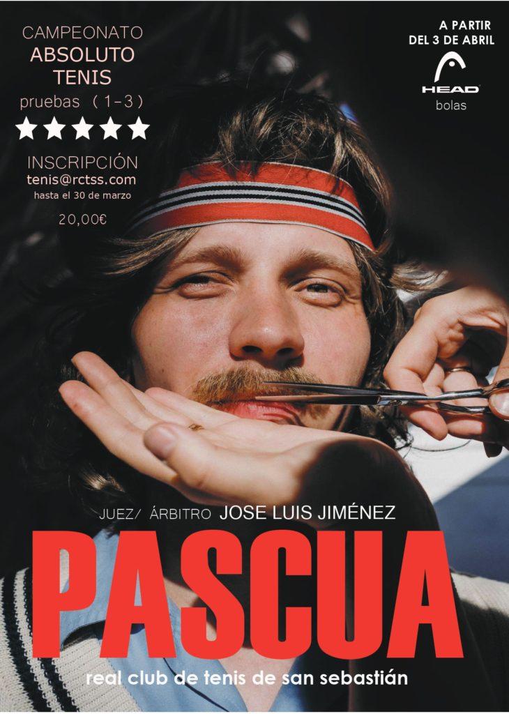 ABSOLUTO  DE  TENIS  –  CAMPEONATO  DE  PASCUA