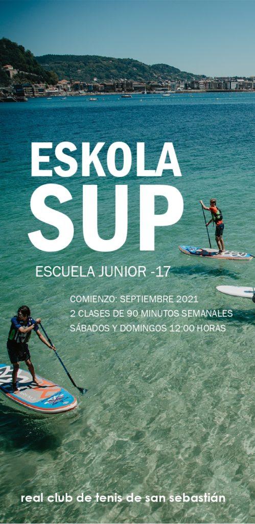 ESCUELA JUNIOR STAND UP PADDLE 2021 – 2022